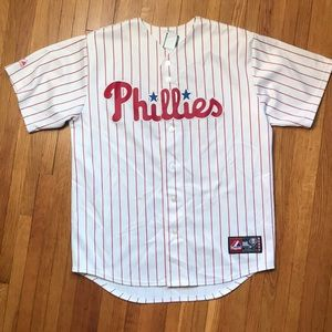 Men's Philadelphia Phillies baseball jersey Large